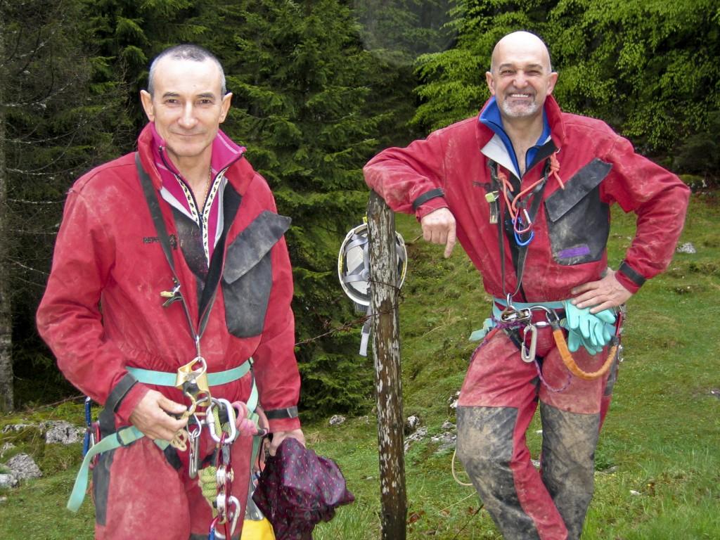 Flaviano Masetto e Cesare Raumer