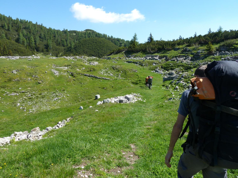 Verso il Monte Cucco di Pozze