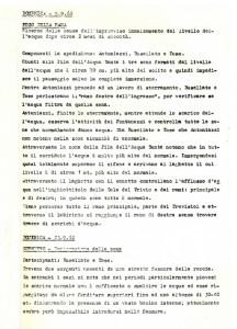 Pre Stalattite - Attività 1962-1963 - piena Buso della Rana