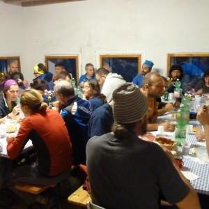 56° corso tecnico - sala da pranzo malga boscosecco